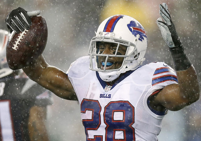 The Eagles were reportedly interested in trading for C.J. Spiller.