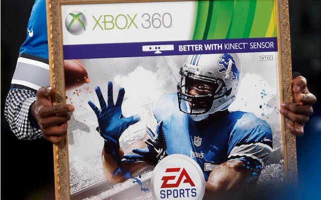 Megatron is the only Madden cover guy to have beaten the curse. (USATSI)