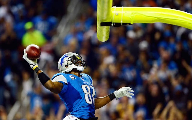 This might not be the last dunk we see from Calvin Johnson. (USATSI)