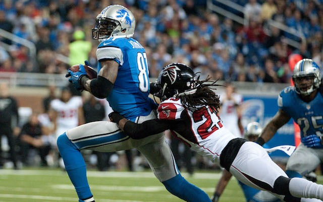 Calvin Johnson scorched the Falcons during the NFL's last Saturday regular season game. (USATSI)