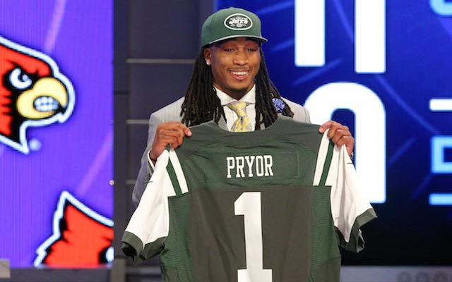 First-round pick Calvin Pryor officially signed his contract with the Jets on Monday. (USATSI)