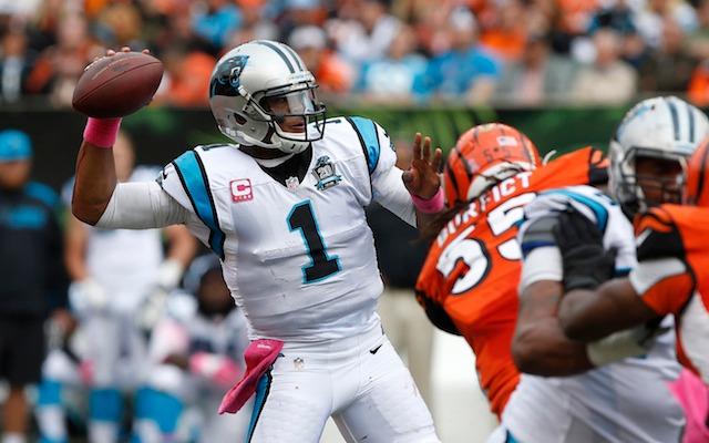 Bengals LB Vontaze Burfict takes cheap shot on Cam Newton's