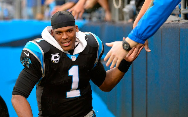 As expected, the Panthers have picked up Cam Newton's fifth-year option. (USATSI)
