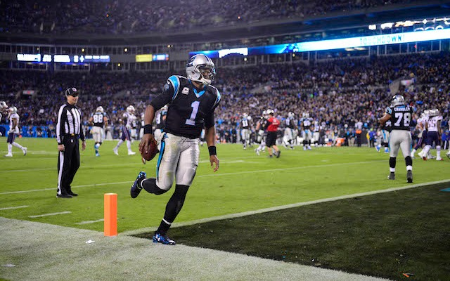 Cam Newton's number is one, but he's not No. 1 on the MVP Projection list yet. (USATSI)