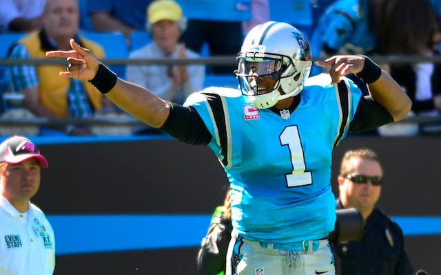 Can Cam Newton and the Panthers outgun Tom Brady and the Patriots? (USATSI)
