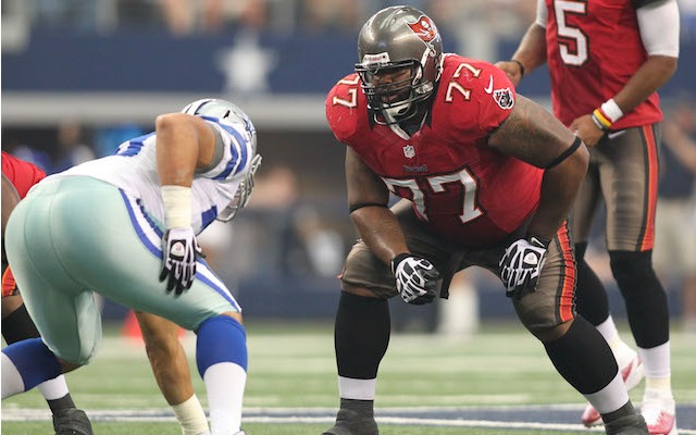 Carl Nicks is leaving Tampa after two seasons with the Buccaneers. (USATSI)
