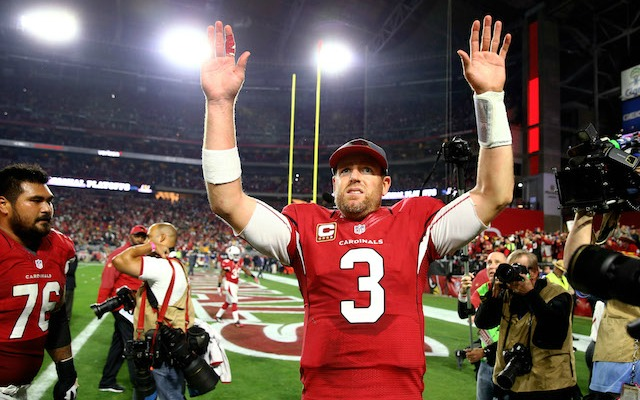 Carson Palmer and the Cardinals are getting some help from an unexpected place. (USATSI)