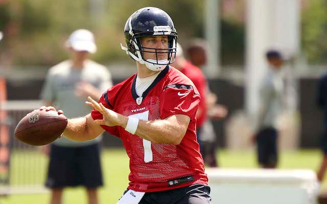 Case Keenum finally got some first-team reps at training camp. (USATSI)