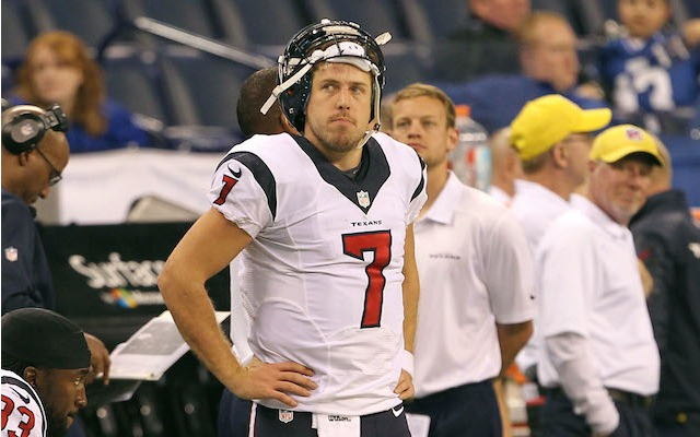 Could Case Keenum be on his way out in Houston? (USATSI)