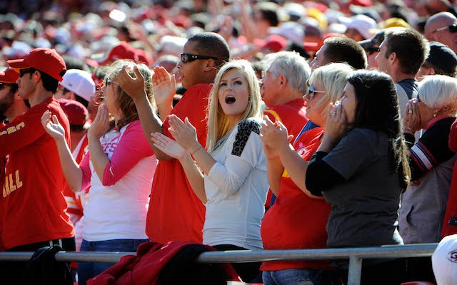 Chiefs fans are giving up wedding rings for a chance to see the Broncos play in Kansas City. (USATSI)