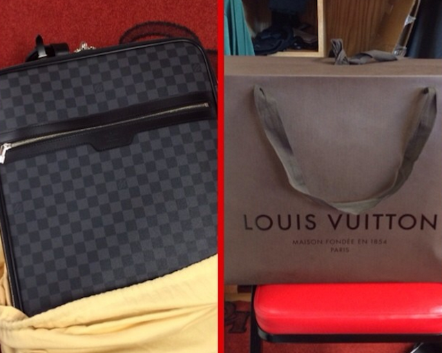 Louis Vuitton bags for everyone. (Instagram)