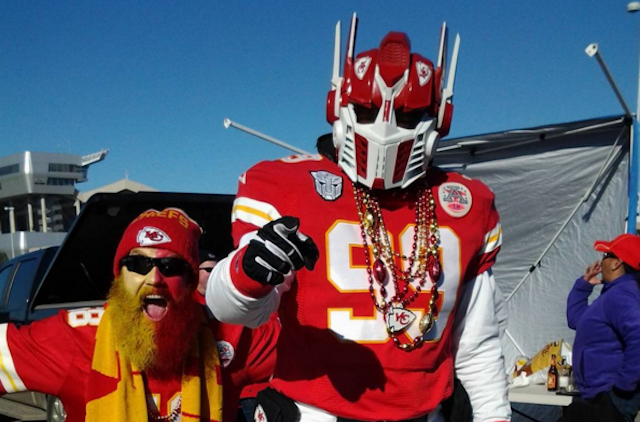 Chiefs fans are hoping KC finally transforms into a playoff winner. (Instagram/JessFrederick97)