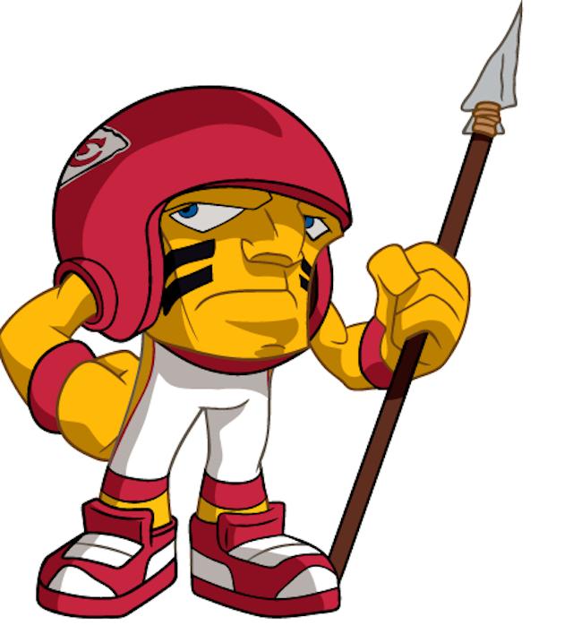 The Chiefs have a unique mascot too. (nflrz.nflrush.com)