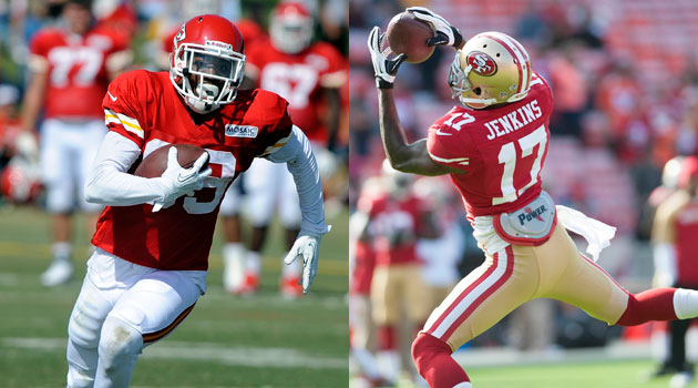 Jon Baldwin and A.J. Jenkins are casualties of the NFL's HOT STOVE season.