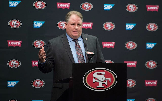 Chip Kelly could have a rough first year in San Francisco. (USATSI)