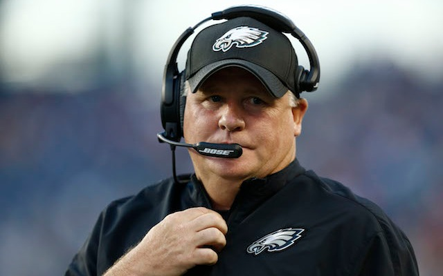 Chip Kelly and the Eagles trimmed their roster down to 76 players on Saturday. (USATSI)