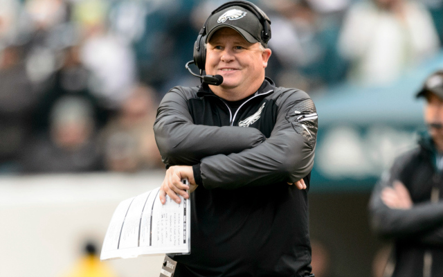 Chip Kelly's name is included in the Texas coaching search.