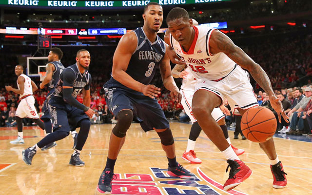 St. John's starting C Chris Obekpa has been suspended for two weeks. (USATSI)