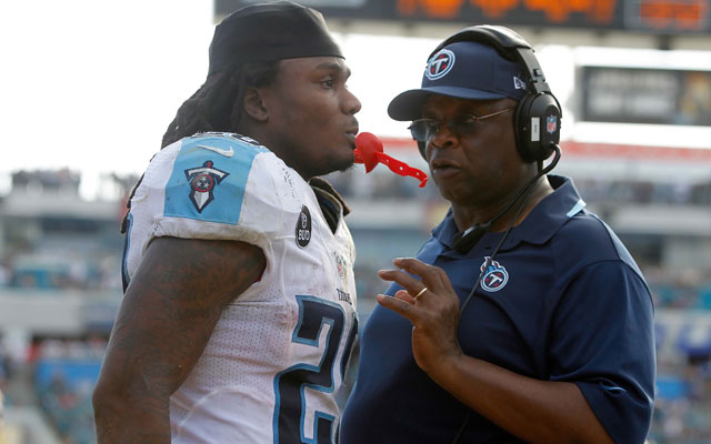 The Titans didn't love Chris Johnson's 'questionable work ethic.'