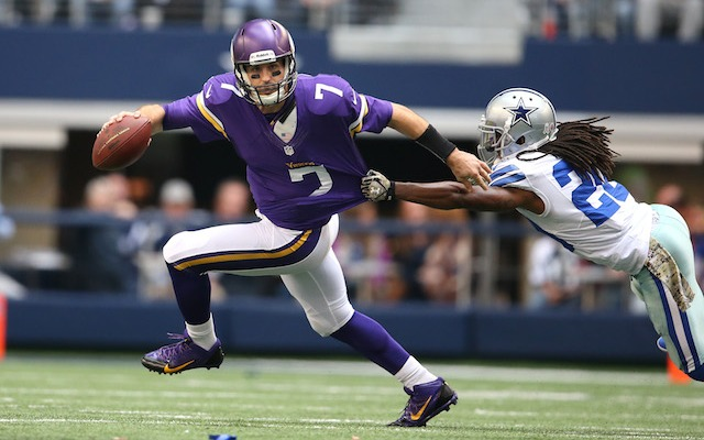 Will Christian Ponder be the second-best starting quarterback in the NFC North in Week 10? (USATSI)