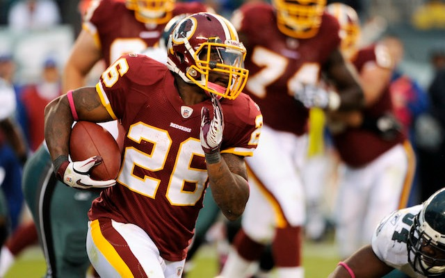 Clinton Portis paid $38,000 and almost went to court over No. 26. (USATSI)
