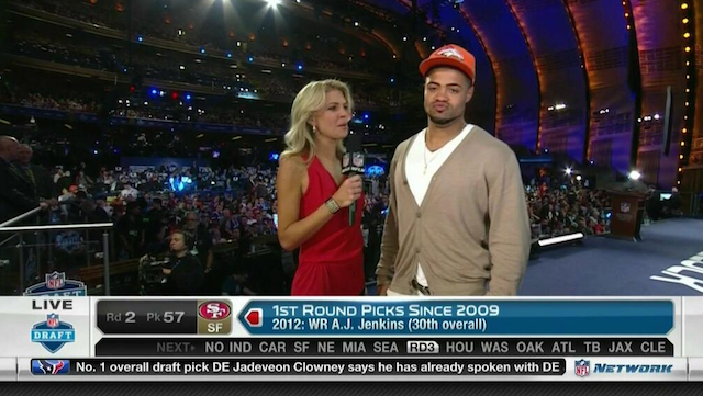 It was casual Friday for Broncos draft pick Cody Latimer. (USATSI)