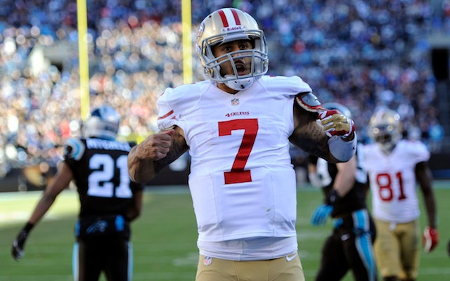 Colin Kaepernick's new deal is likely the starting point for some other young quarterbacks. (USATSI)