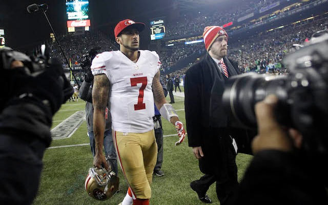 If you can help the 49ers win, Colin Kaepernick wants you as a teammate. (USATSI)