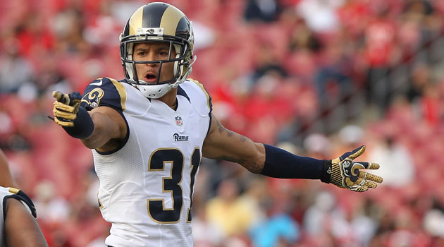 Cortland Finnegan is quite high on the Lions next year. And the Rams too, obviously. (USATSI)