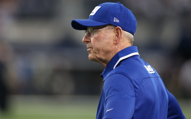 Tom Coughlin has a 90-70 career record with the Giants. (USATSI)