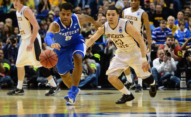 Both Fred VanVleet and Andrew Harrison are on the Cousy watch list in 2015. (USATSI)
