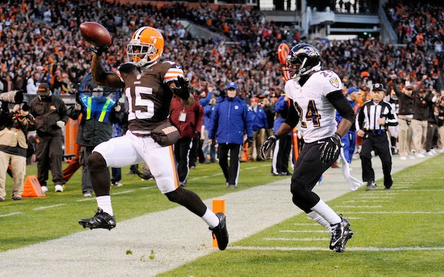 Davone Bess will miss the Browns final two games after being placed on the NFI list. (USATSI)