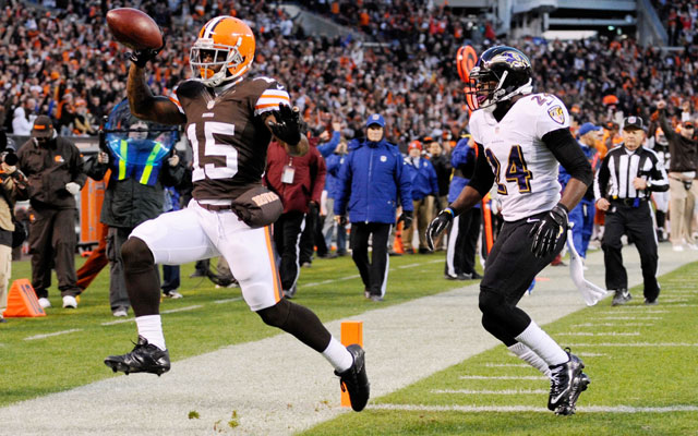 Davone Bess was released by the Browns Wednesday.