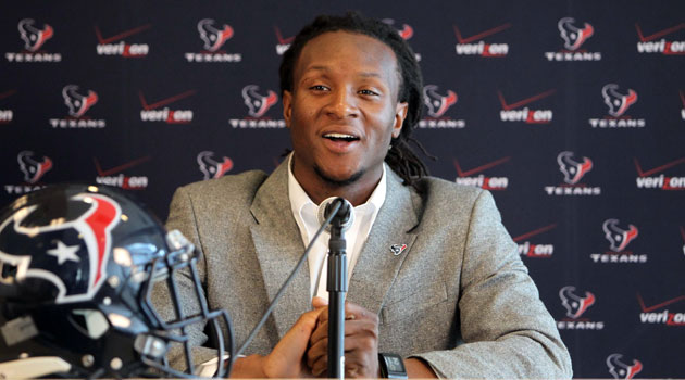 Houston reportedly signed DeAndre Hopkins to a four-year deal.(USATSI)