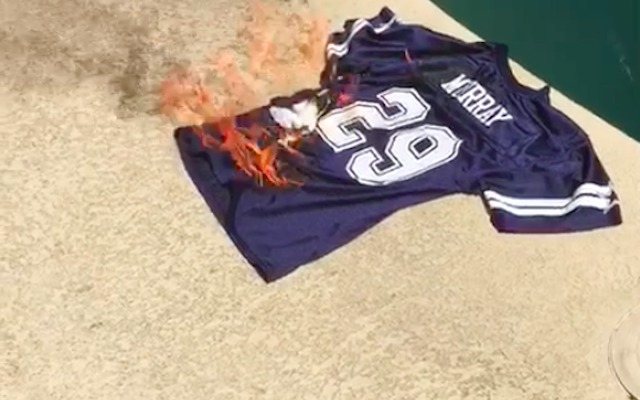 WATCH: Cowboys fans are setting their DeMarco Murray jerseys on ...