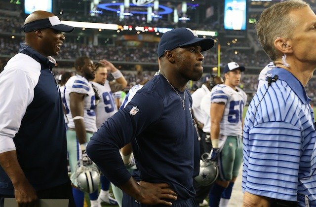 DeMarco Murray spent the second half of Sunday's game on the sideline. (USATSI)