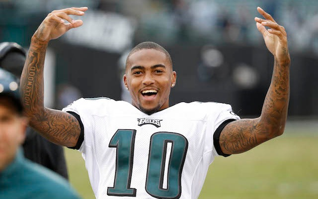DeSean Jackson says he's not in a gang. (USATSI)
