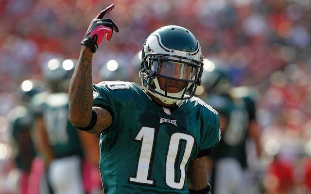 DeSean Jackson is spending Tuesday in Washington. (USATSI)