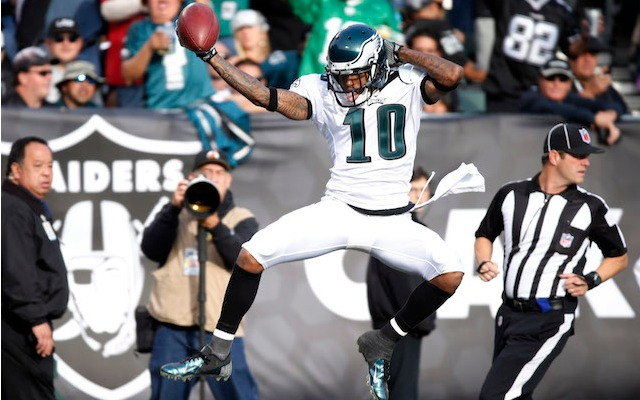 Matt Schaub would love to see DeSean Jackson in Oakland. (USATSI)
