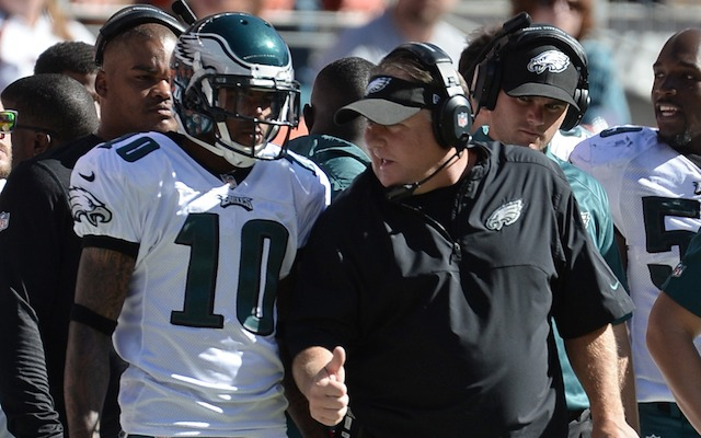 The NFL believes that Chip Kelly got rid of DeSean Jackson for football reasons. (USATSI)