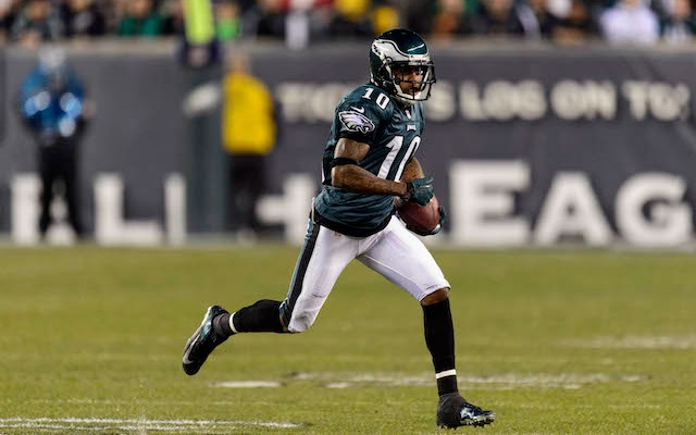 DeSean Jackson would like some more money from the Eagles. (USATSI)