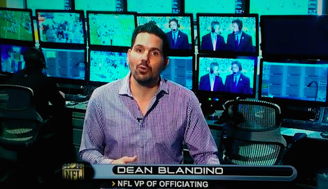 Dean Blandino tried to explain why Golden Tate actually scored a touchdown. (RedZone)