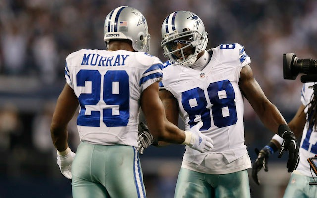 Look Dez Bryant Congratulates Demarco Murray For Going To