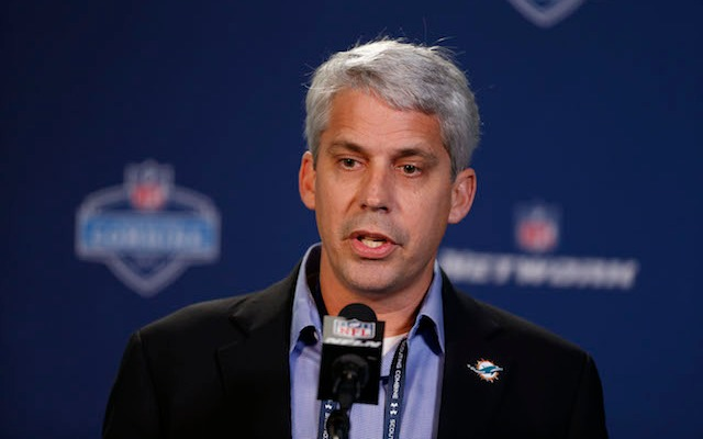 A former Dolphins scout claims he was illegally fired by general manager Dennis Hickey. (USATSI)