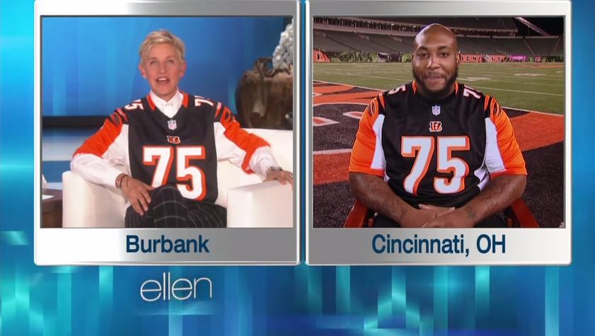 Devon Still gets $10K donation on 'Ellen,' signed jersey going to ...