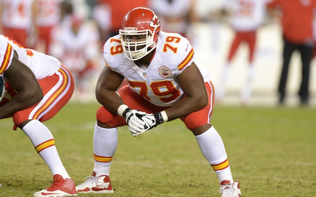 Donald Stephenson will be sitting out the first four games of the 2014 season. (USATSI)