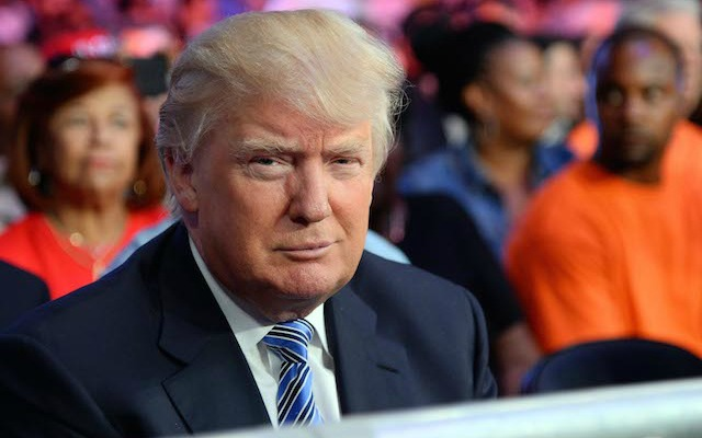 Donald Trump placed the lowest non-binding bid for the Bills. (USATSI)