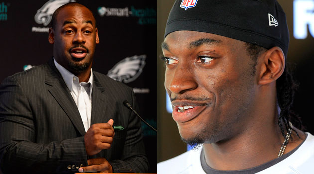 Donovan McNabb thinks RG3 is being 'brainwashed' in Washington.