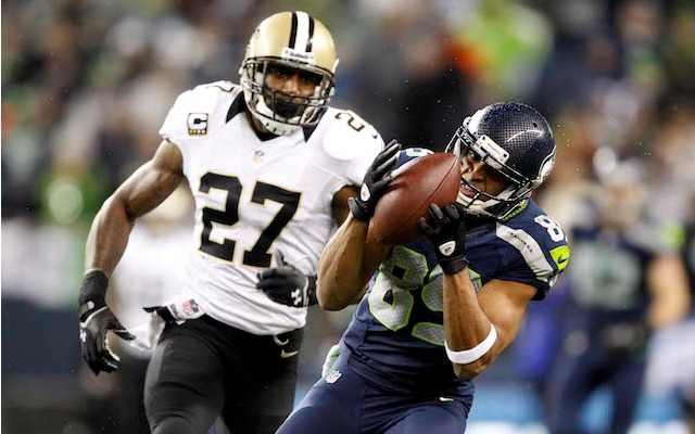 Doug Baldwin thinks highly of the Seahawks receiving corps. (USATSI)