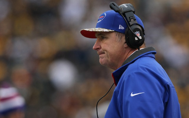 Doug Marrone got the team off to a good start, but ultimately, the Bills struggled int the second half. (USATSI)
